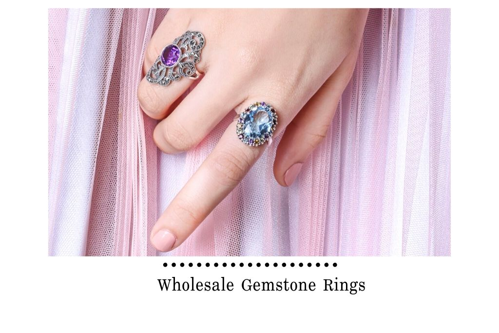 Wholesale Gemstone Rings