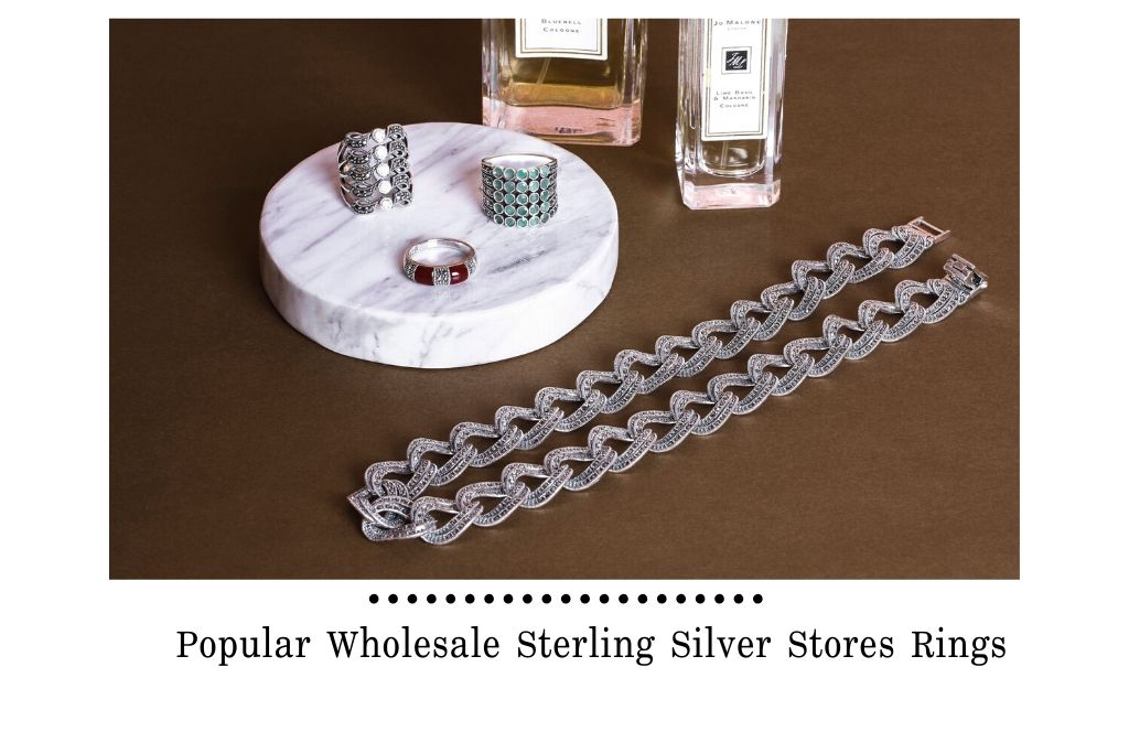 Popular Wholesale Sterling Silver Stores Rings