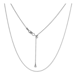 Adjustable and Fixed length 925 silver necklaces